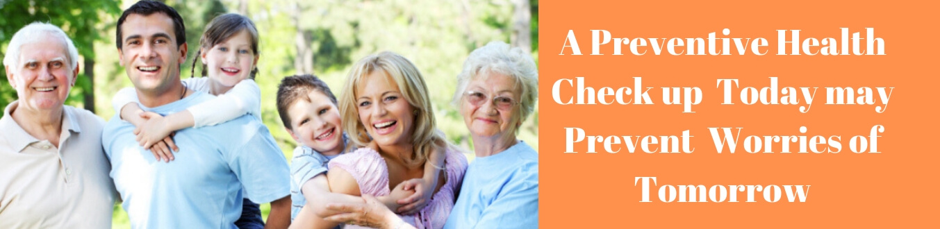 General Body Check Up - See the Packages of Full Body Check Up in Delhi - India